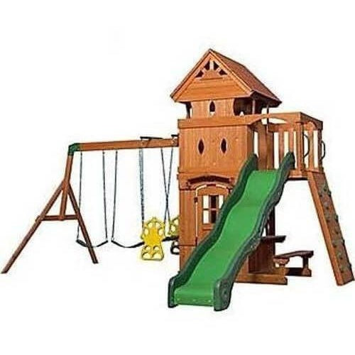 Monterey Wooden Swing Set-Backyard Discovery-YardKid