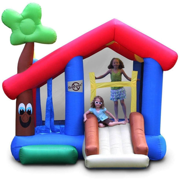 My Little Playhouse Bounce House with Slide-KidWise-YardKid