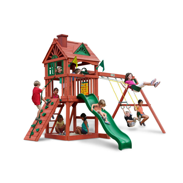 Nantucket Swing Set-Gorilla Playsets-YardKid