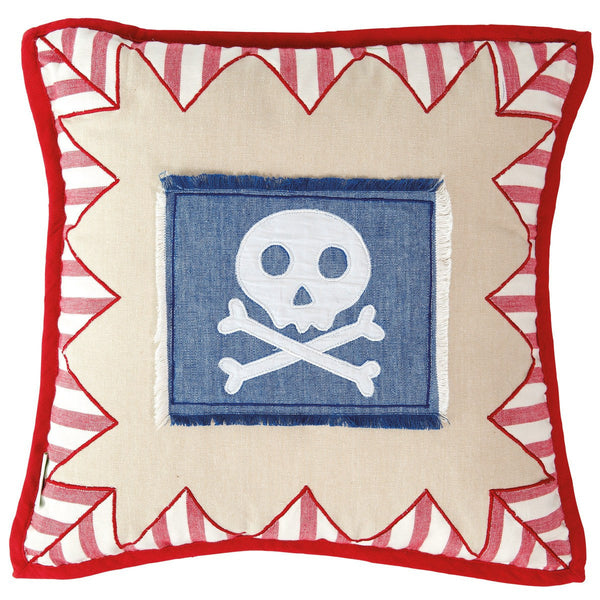 Pirate Shack Cushion / Pillow Cover-Win Green-YardKid