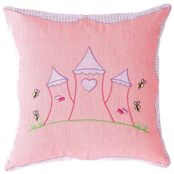 Princess Castle Cushion / Pillow Cover-Win Green-YardKid