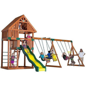 Quest Wooden Swing Set