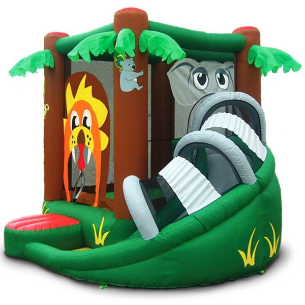 Safari Bounce House with Slide-KidWise-YardKid