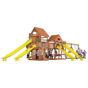 Safari Wooden Swing Set
