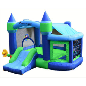 Shady Play Game Room Bounce House