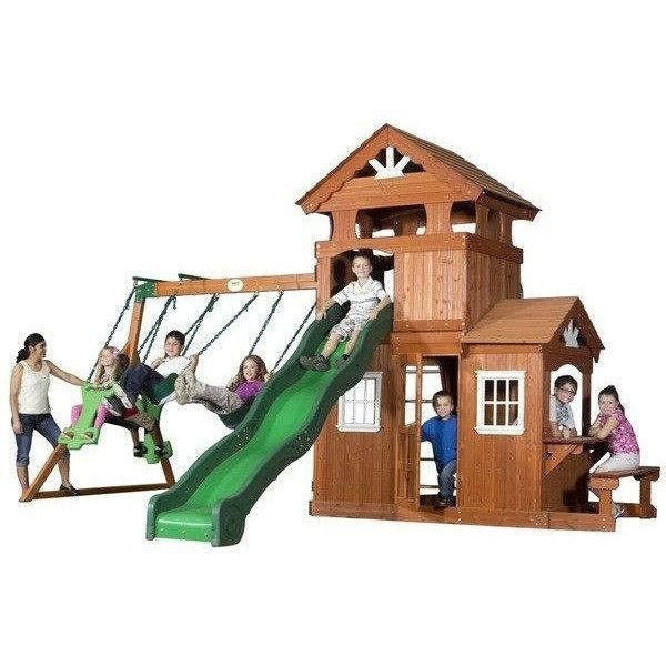 Shenandoah Swing Set-Backyard Discovery-YardKid