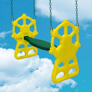 Ship's Wheel Glider Swing