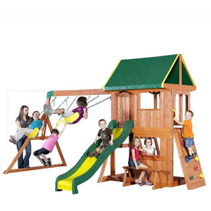 Somerset Wooden Swing Set