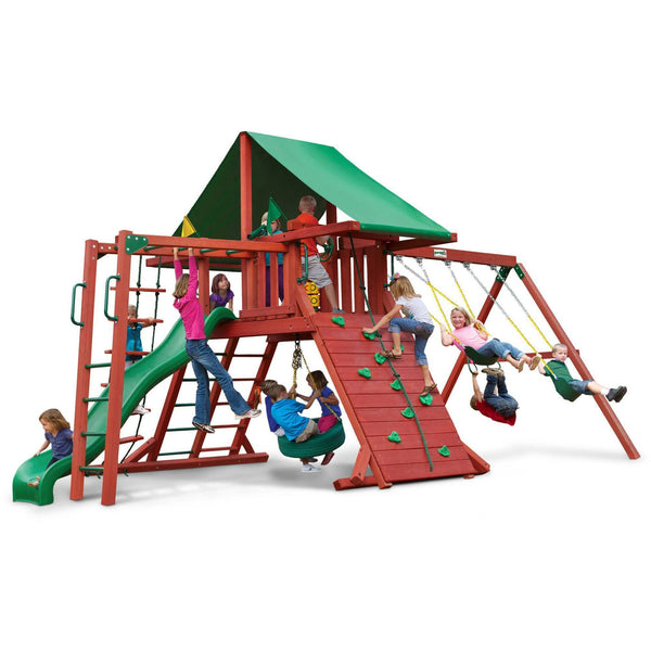 Sun Valley II Swing Set-Gorilla Playsets-YardKid
