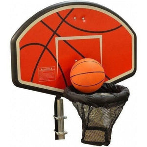 Trampoline Basketball Hoop Attachment