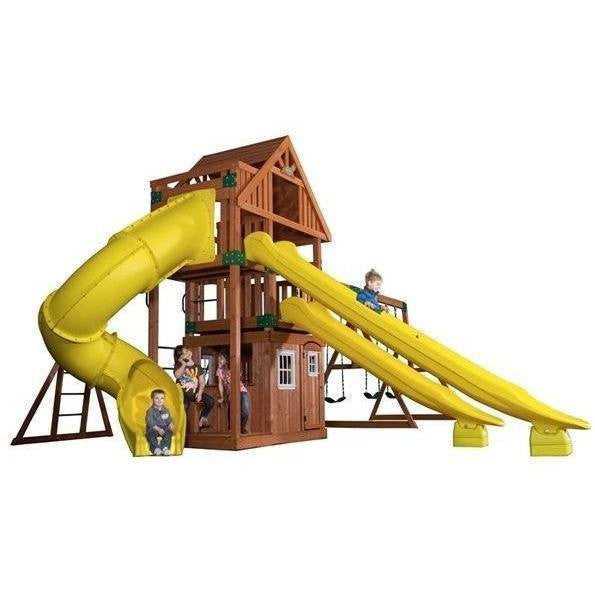 Traverse Cedar Swing Set-Backyard Discovery-YardKid