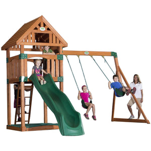 Trek Wooden Swing Set