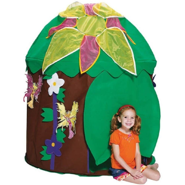 Woodland Fairy Hut Playhouse-Bazoongi-YardKid