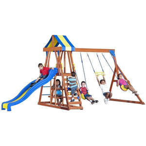 Yukon III Wooden Swing Set