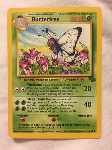 Butterfree - Jungle - 1/64