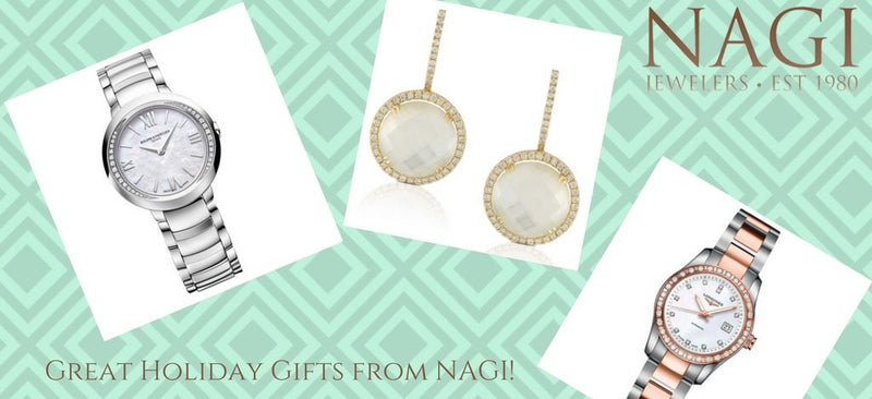 Great Gifts for The Holidays from NAGI Jewelers!