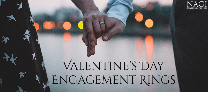 Love is in The Air: Valentine's Day Engagement Rings!