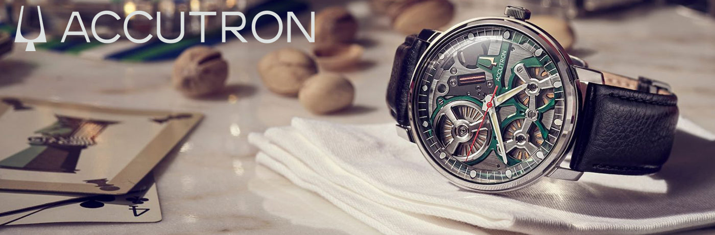 Accutron spaceview dna watches