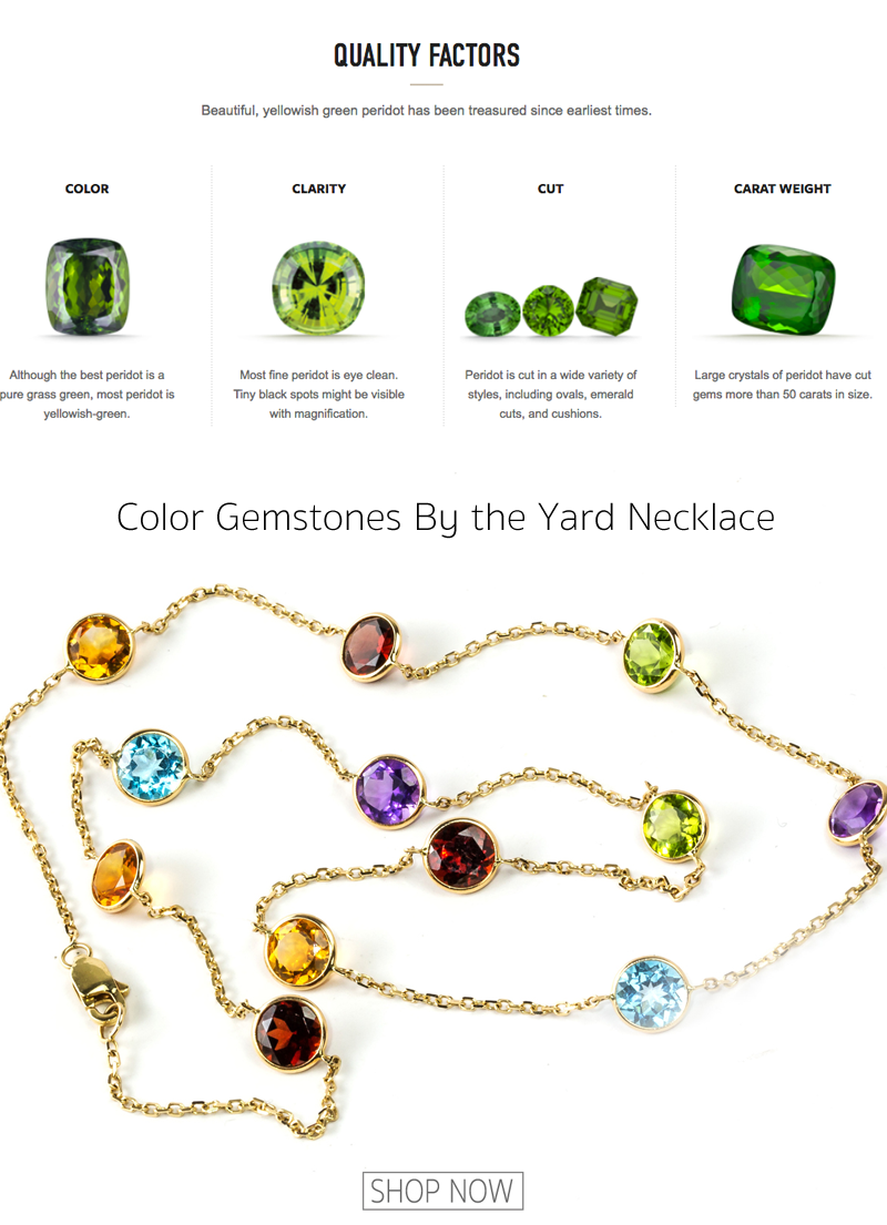 peridot gemstone quality factores buyers guide