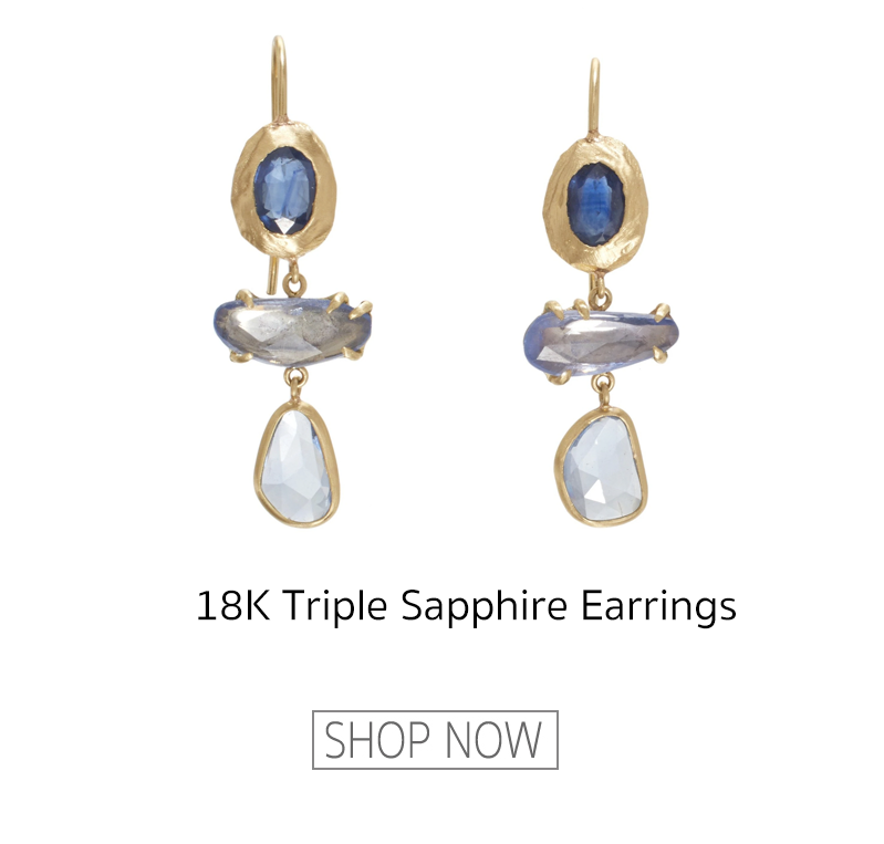 page sargisson sapphire earrings
