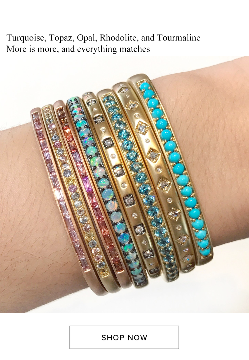 jane taylor beach summer color stackable bangles