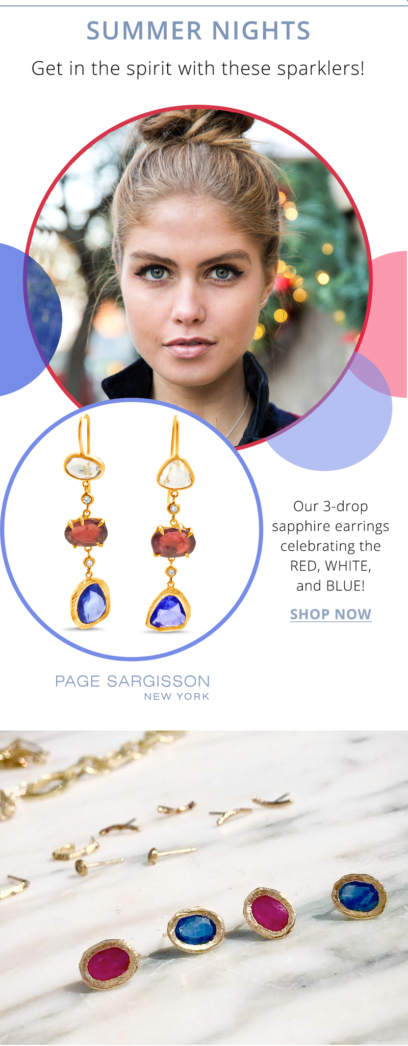 page sargisson july summer sparklers jewelry