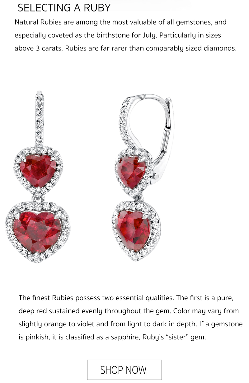 nagi jewelers all about ruby july birthstone quality