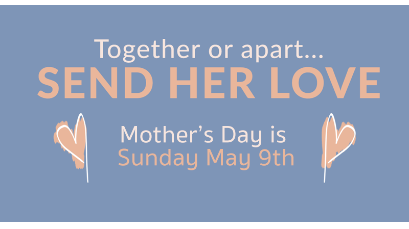 mothers day is may 9th 2021.  it's early this year