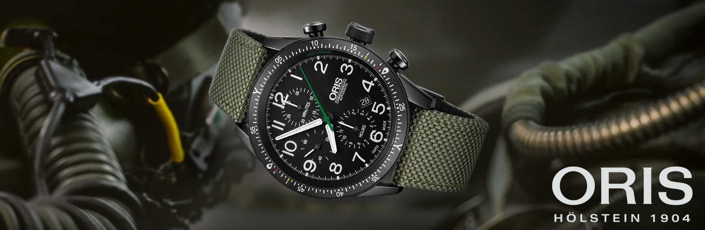 Oris paratropper green watch in stamford Connecticut