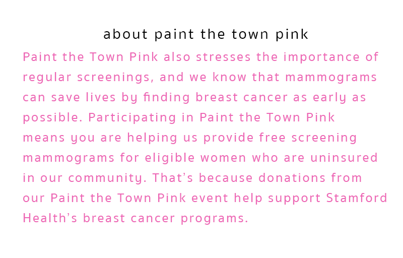 about paint the town pink
