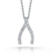 Roberto Coin Wishbone Necklace