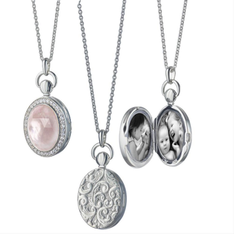 The Monica Rich Kosann Rose Quartz Photo Locket