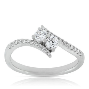 Forevermark Ever Us Two Stone Ring