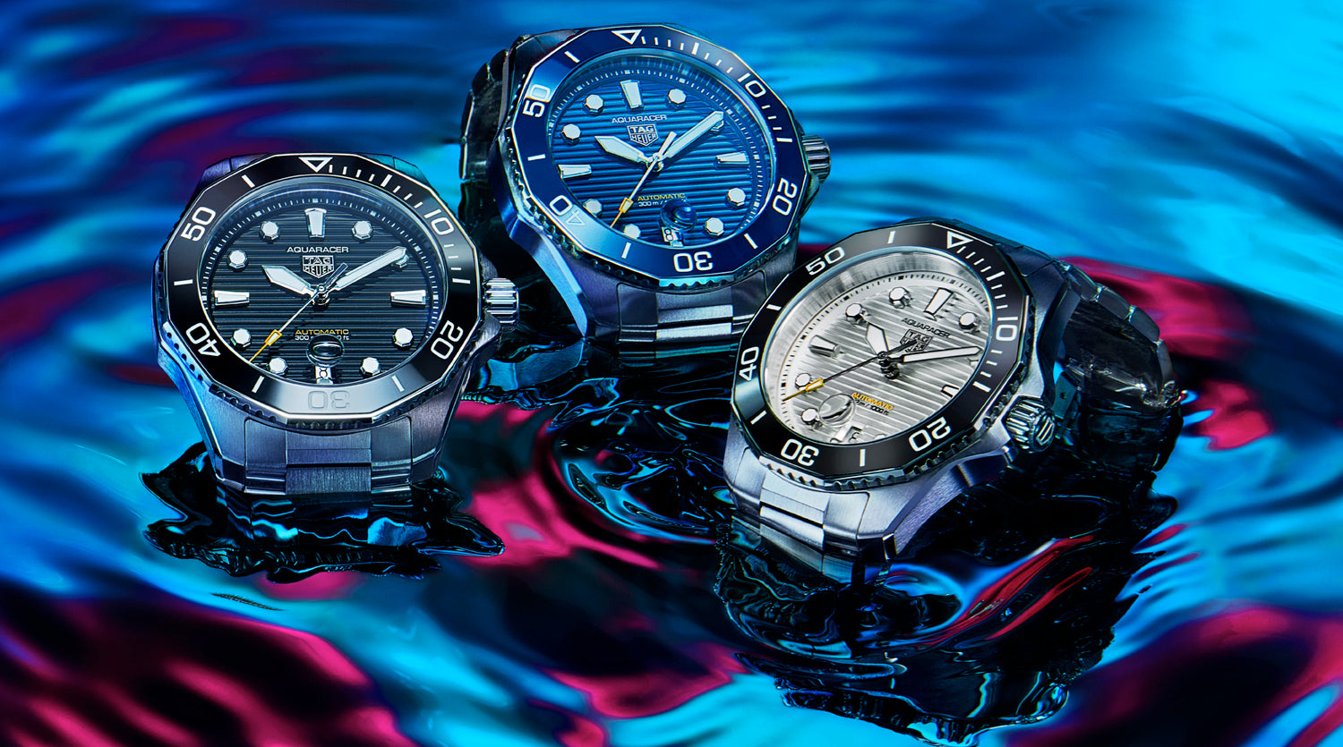 tag heuer aquaracer water resistant watches