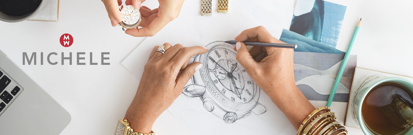michele watch drawing design serein deco