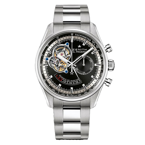 Zenith Automatic El Primero 42MM Chronomaster Open Dial Power Reserve Chronograph Watch