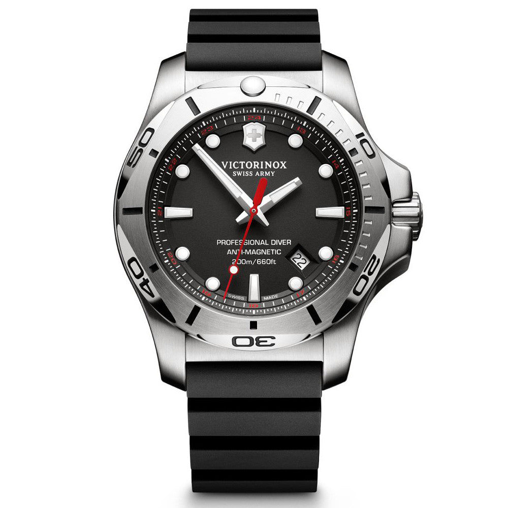 Swiss Army I.N.O.X. Professional Diver Quartz Unidirectional Bezel Watch 241733