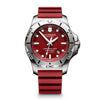 Victorinox Swiss Army 45MM INOX Professional Diver Watch in Red 241736