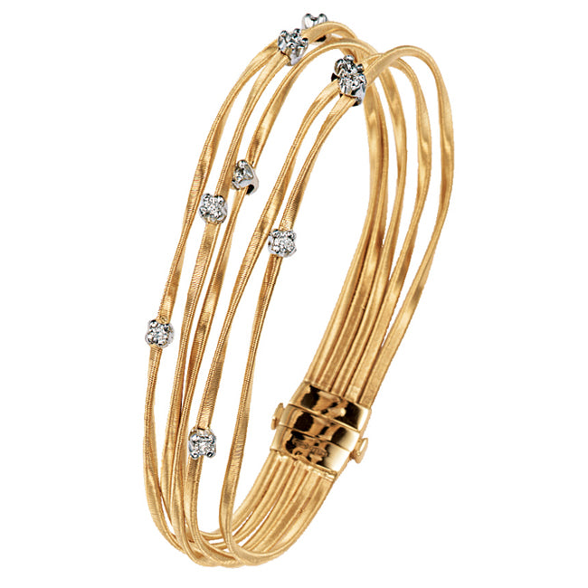 Marco Bicego Marrakech Mini Five Strand Diamond Bracelet BG625