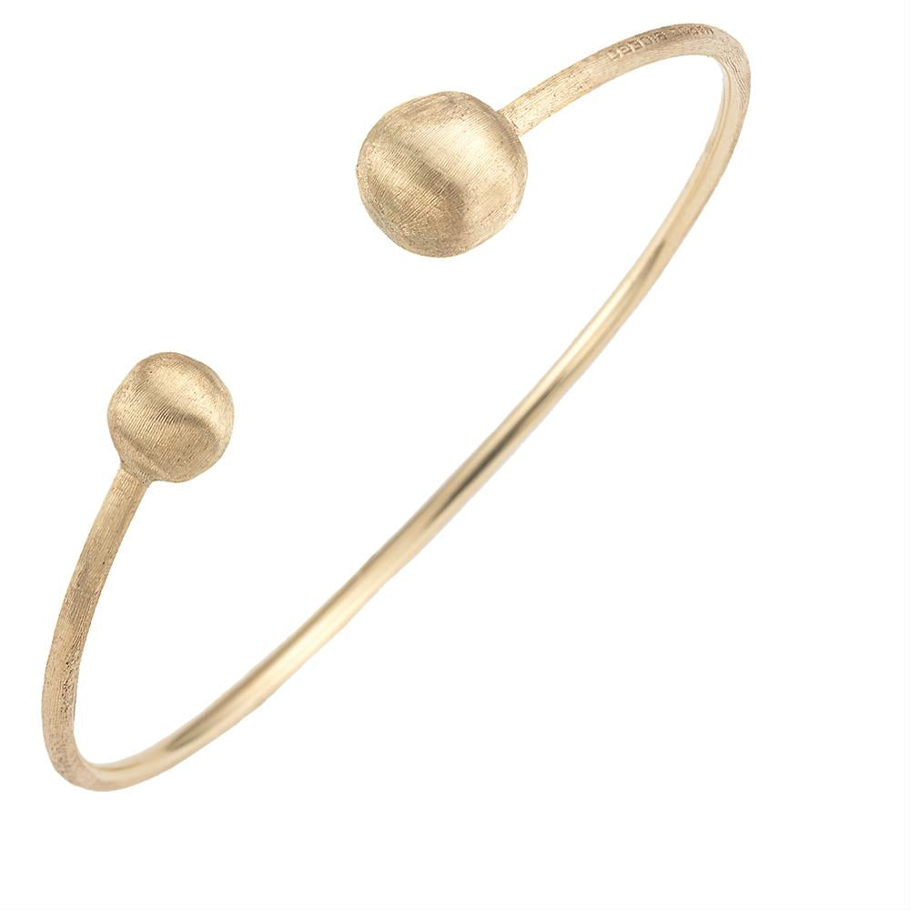 Marco Bicego Africa Kissing 18K Yellow Gold Bangle Bracelet