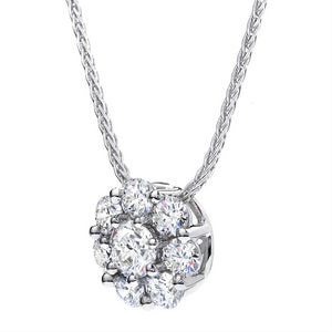 Hearts On Fire Beloved Diamond Pendant Necklace .55cts