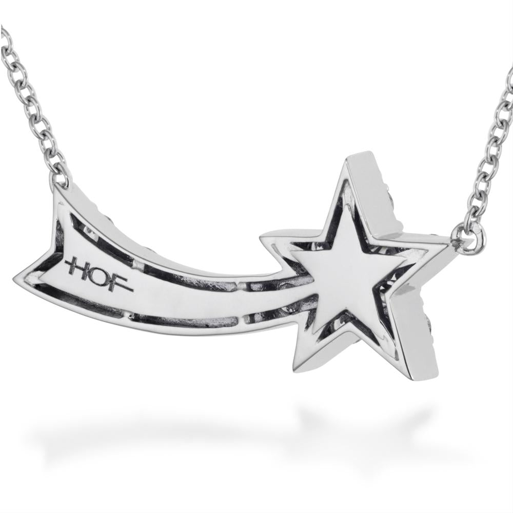 Hearts on Fire Illa Comet Diamond Star Pendant Necklace