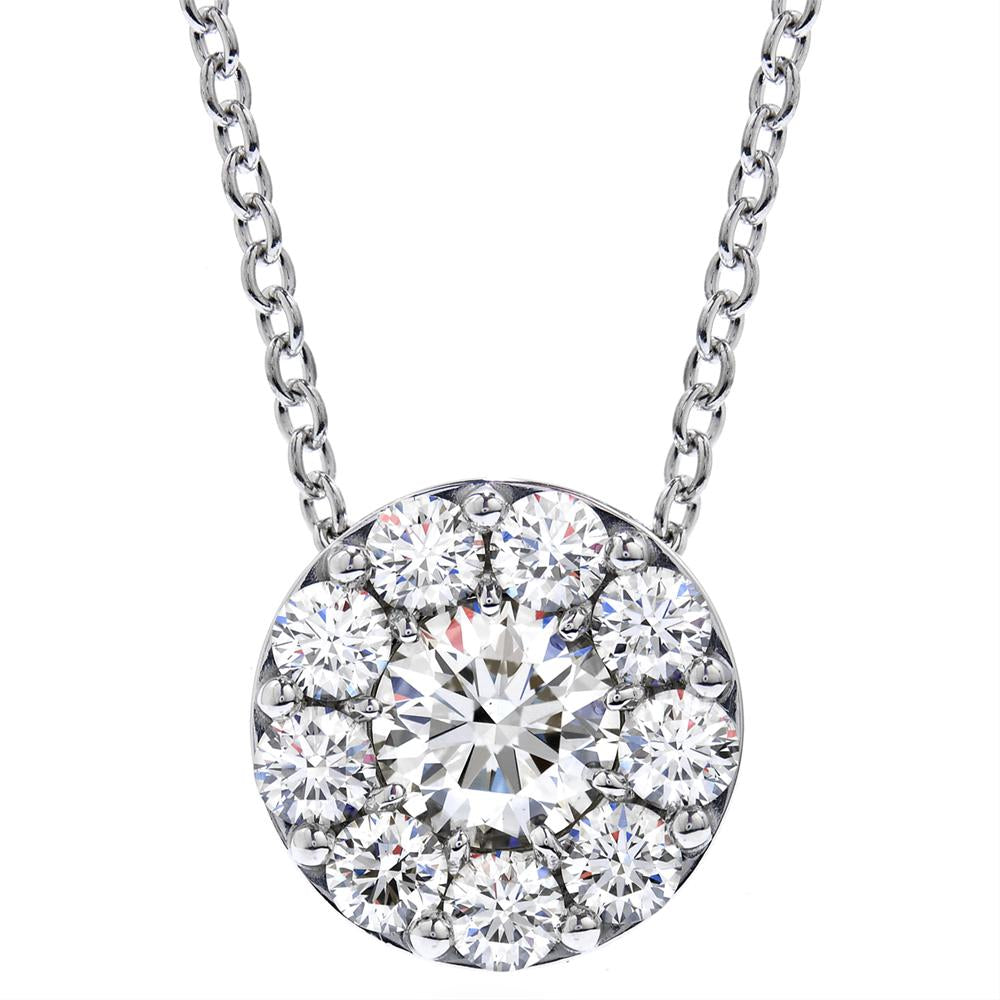 Hearts on fire fulfillment 18k white gold diamond pendant necklace hearts on fire fulfillment diamond pendant necklace 70ct aloadofball Images