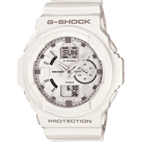 Casio G-Shock White Analog Digital Men's Tough Watch GA150-7A