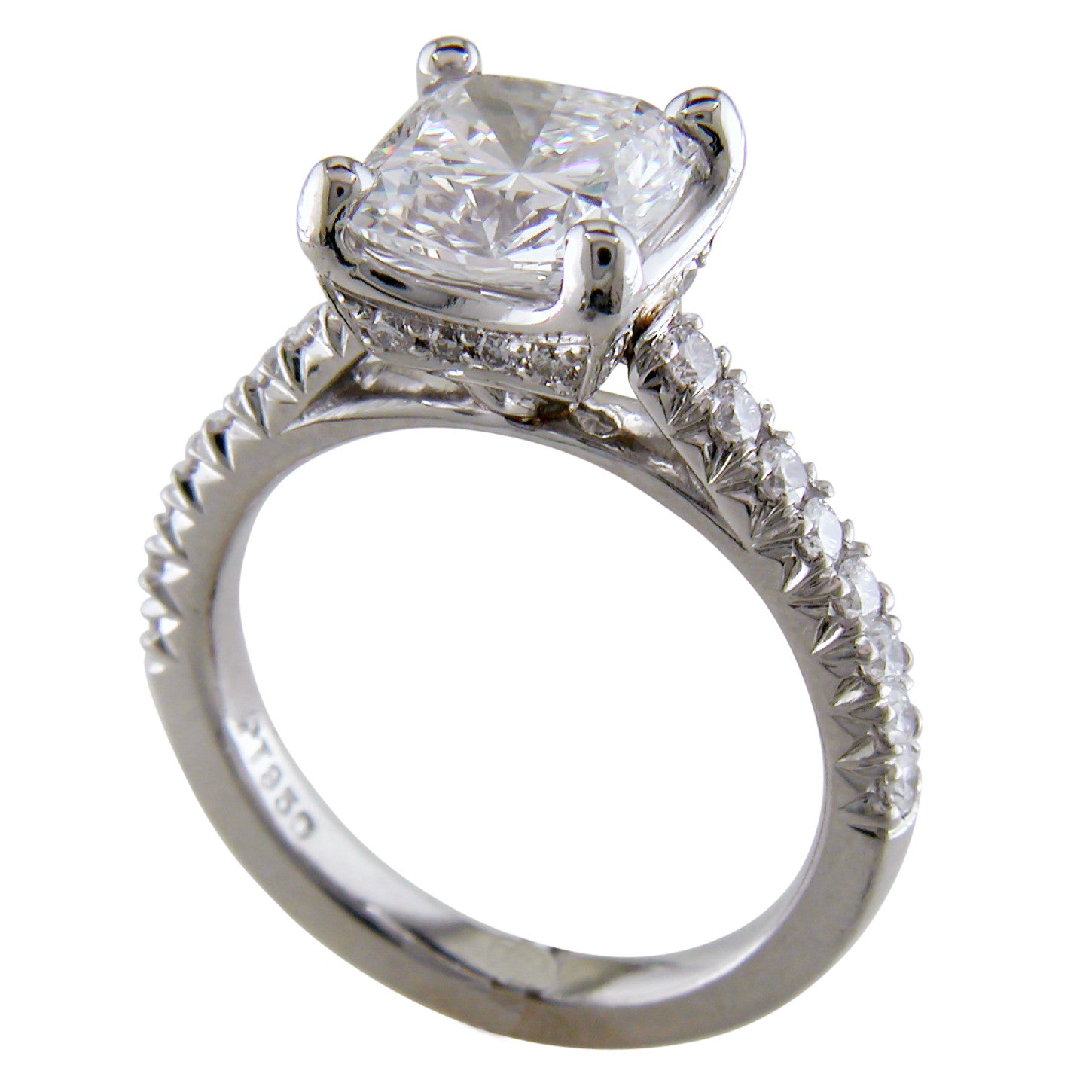 in engagement cut ct channel p platinum set tw ring diamond carat princess rings