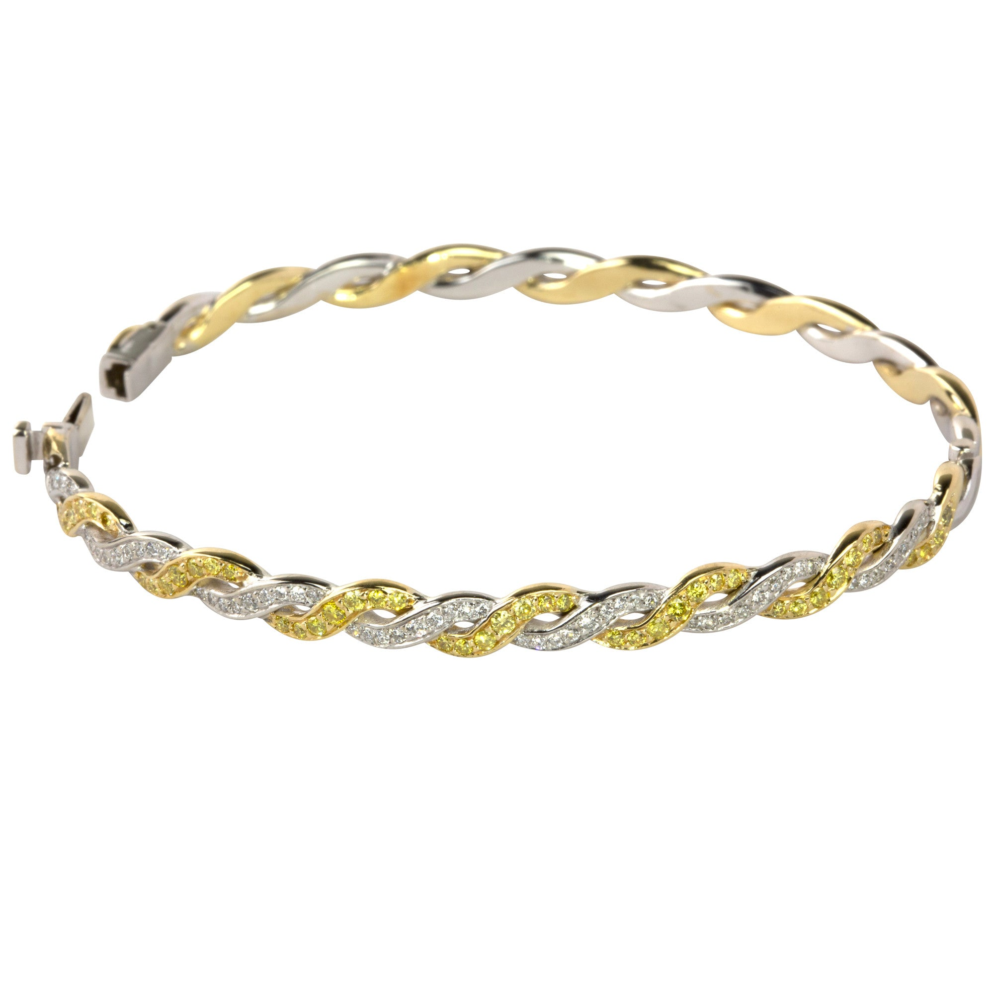 bracelet moonstone pin and company mazza gold design the by yellow designed