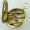 Pre-owned Henry Capt. Geneve 18K Yellow Gold Repeater Pocket Watch Keywind movement
