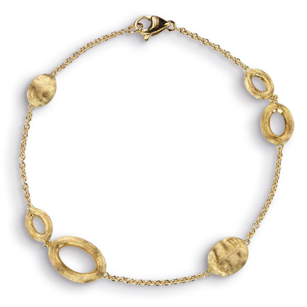 Marco Bicego Siviglia Oval Loop 18K Yellow Gold Bracelet BB1712Y