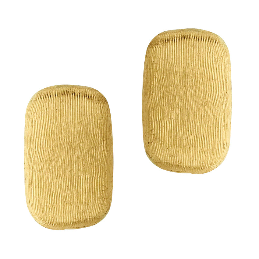 Marco Bicego Murano 18K Yellow Gold Rectangle Stud Earrings OB1222