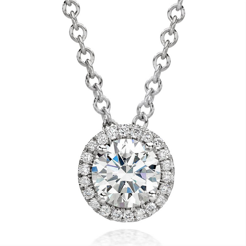 Forevermark Round Ideal Cut Diamond Halo